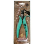 Vintaj Metal Brass Company - Tools - Hole Punch Plier with Gauge Guard