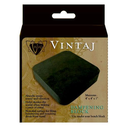Vintaj Metal Brass Company - Tools - Rubber Dampening Block
