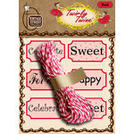 Vintage Street Market - Craft Pantry Staples - Twirly Twine - Red