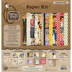 Vintage Street Market - Family Fun Collection - 12 x 12 Paper Kit