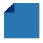 WorldWin - DoubleMates - 12 x 12 Cardstock Pack - 50 Sheets - Belgium Blue, CLEARANCE
