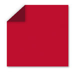 WorldWin - DoubleMates - 12 x 12 Cardstock Pack - 50 Sheets - Berry Red