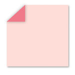 WorldWin - DoubleMates - 12 x 12 Cardstock Pack - 50 Sheets - Fairy Tale Pink, CLEARANCE