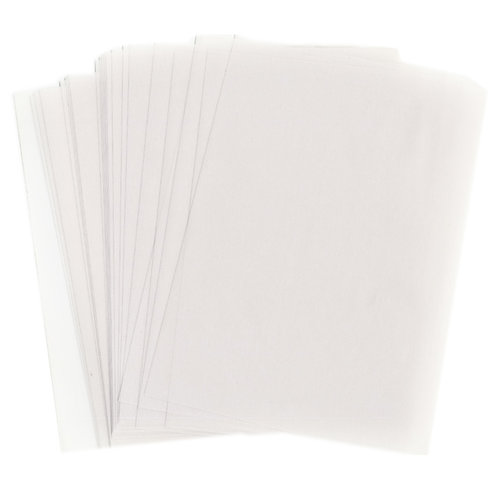 WorldWin - 8.5 x 11 Translucent Vellum - 50 Sheets - Clear 29 Pound