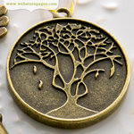 Websters Pages - Perfect Bulks - Metal Embellishments - Tree Charm