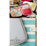 Websters Pages - Color Crush Collection - CraftMate Folio - Grey, COMING SOON