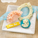 Websters Pages - Growing Up Girl Collection - Perfect Accents - Resin Embellishment Pieces