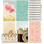 Websters Pages - Color Crush Collection - Personal Planner Divider Kit - Dip Dye - Gold, COMING SOON