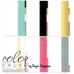 Websters Pages - Color Crush Collection - Personal Planner Divider Kit - Dip Dye - Teal, COMING SOON