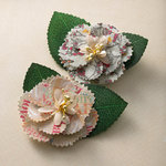 Websters Pages - Trendsetter Collection - Florettes - Fabric Flowers