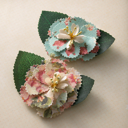 Websters Pages - Country Estate Collection - Florettes - Fabric Flowers
