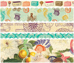 Websters Pages - Seaside Retreat Collection - Fabric Ribbons