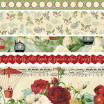 Websters Pages - Waiting for Santa Collection - Christmas - Fabric Ribbons