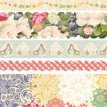 Websters Pages - Sweet Season Collection - Christmas - Fabric Ribbons