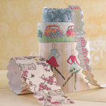 Websters Pages - Trendsetter Collection - Fabric Ribbons