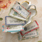 Websters Pages - Country Estate Collection - Fabric Tickets