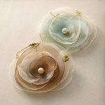 Websters Pages - Ladies and Gents Collection - Florettes - Fabric Flowers - Princess Petals