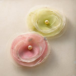 Websters Pages - Trendsetter Collection - Florettes - Fabric Flowers - Princess Petals