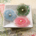 Websters Pages - Everyday Poetry Collection - Florettes - Fabric Flowers - Mini - Princess Petals