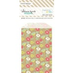 Websters Pages - Composition and Color Collection - Mini Craft Bags - Floral - Kraft
