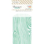 Websters Pages - Sweet Notes Collection - Mini Craft Bags - Wood - Teal
