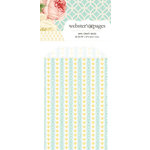 Websters Pages - Modern Romance Collection - Mini Craft Bags - Hearts - Yellow