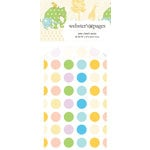 Websters Pages - New Beginnings Collection - Mini Craft Bags - Polka - Multi