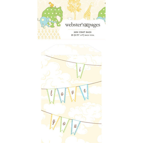Webster's Pages - New Beginnings Collection - Mini Craft Bags - Flags