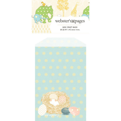 Websters Pages - New Beginnings Collection - Mini Craft Bags - Nest