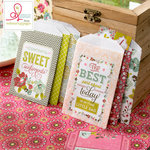 Websters Pages - Adrienne Looman - Plum Seed Collection - Mini Craft Bags