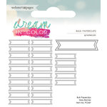 Websters Pages - Dream in Color Collection - Paperclips - Banner - Grey
