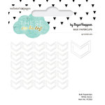 Websters Pages - These Are The Days Collection - Paperclips - Arrow - White