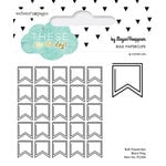 Websters Pages - These Are The Days Collection - Paperclips - Flag - Black