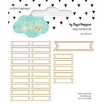 Websters Pages - These Are The Days Collection - Paperclips - Banner - Gold