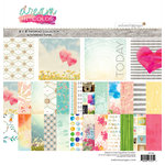Websters Pages - Dream in Color Collection - 12 x 12 Paper Pad