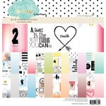 Websters Pages - These Are The Days Collection - 12 x 12 Paper Pad