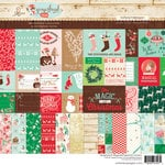 Websters Pages - Gingerbread Village Collection - Christmas - 8 x 8 Paper Pad