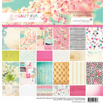 Websters Pages - Beautiful Chic Collection - 12 x 12 Paper Pad
