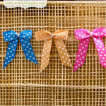Websters Pages - Quick Picks Collection - Polka Dot Bows - Two