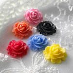 Websters Pages - Whimsies - Resin Embellishment Pieces - Roses in Bloom - Variety