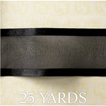 Websters Pages - Designer Ribbon - Black - 25 Yards