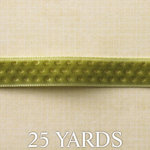 Websters Pages - Designer Ribbon - Green Gold - 25 Yards