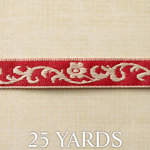 Websters Pages - Designer Ribbon - Rust - 25 Yards