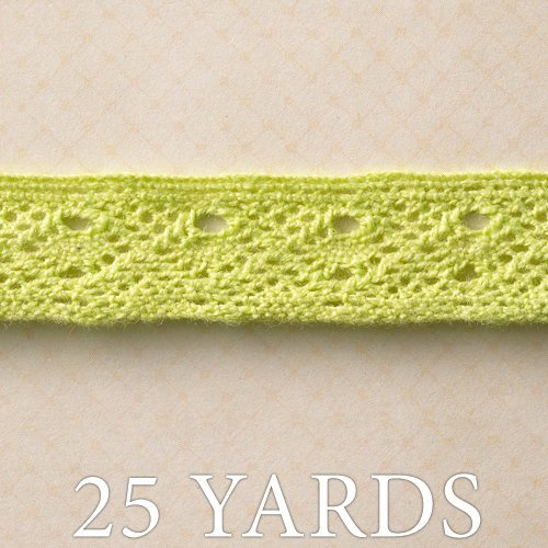 Websters Pages - Ladies and Gents Collection - Designer Ribbon - Fresh Green - 25 Yards
