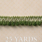 Websters Pages - Country Estate Collection - Designer Ribbon - Soft Green - 25 Yards