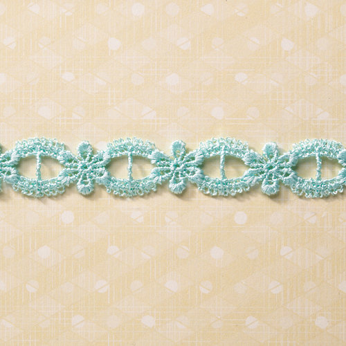 Websters Pages - Designer Ribbon - Blue Elegant - 25 Yards