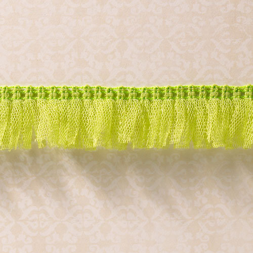 Websters Pages - Designer Ribbon - Tutu Green - 25 Yards