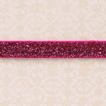 Websters Pages - Designer Ribbon - Velvet Pink Sparkle - 25 Yards