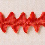 Websters Pages - Designer Ribbon - Wave Orange - 25 Yards