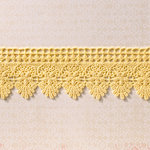 Websters Pages - Designer Ribbon - Tan Embroidery - 25 Yards